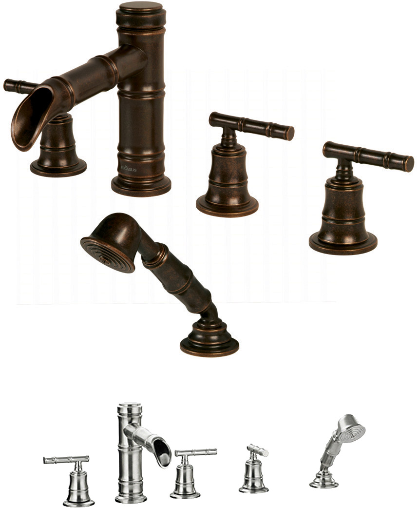 Bamboo Faucets at FaucetLine.com. Bamboo Faucet Collection.