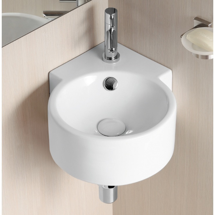 corner bathroom sink buy corner sinks at faucetline 12531