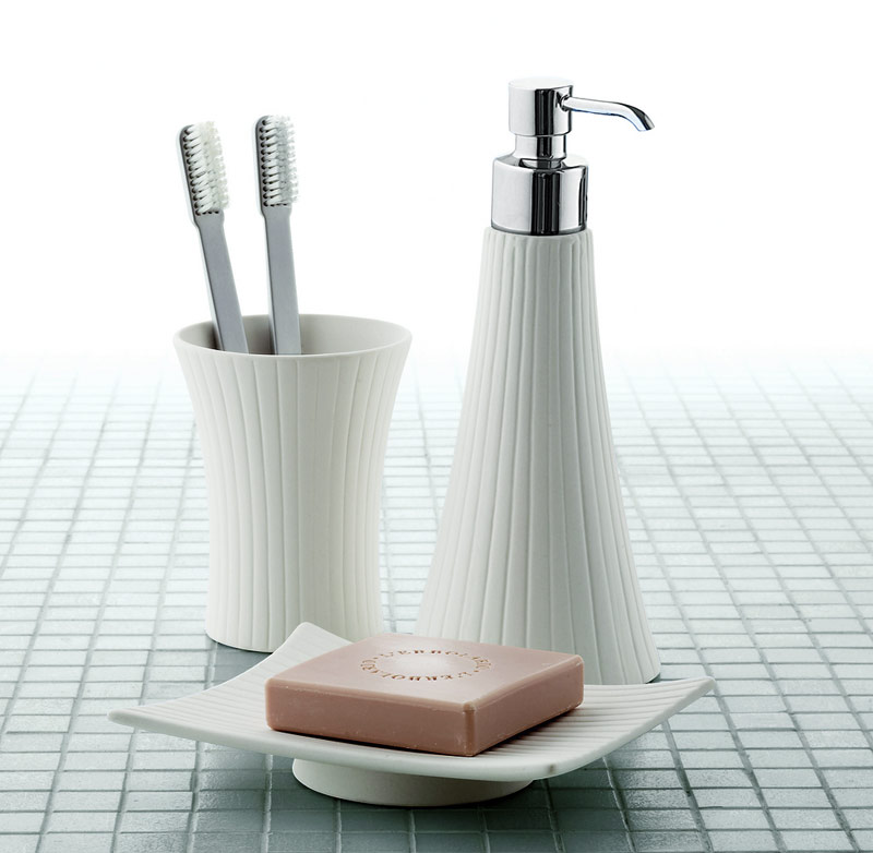 Gedy by nameeks modern bathroom accessories at for Contemporary bathroom accessories