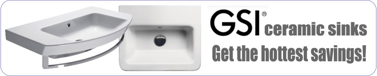 GSI by Nameeks Ceramic Sinks and Toilets
