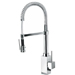 Latoscana 84CR557LFE Dax Collection Single Handle Kitchen Faucet with Hi-Arc Spring Spout