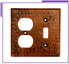 The Copper Factory Switch Plate Covers