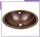 Copper Undermount Lavatories