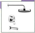 Remer One Handle Tub and Shower Faucet